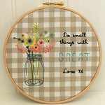 Small Things Great Love Hoop