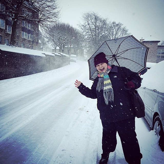Snow-Blown Buxton