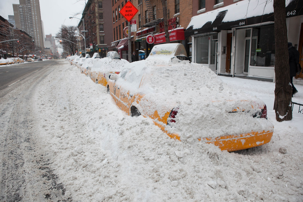 Blizzard of 2015 New York City