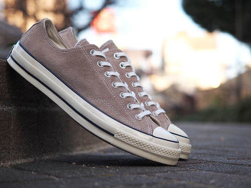 Converse / CT70 OX Suede [Portrait Grey]