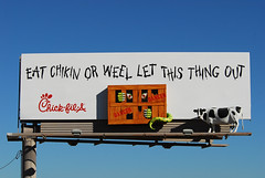 Chick-fil-A billboard - Santan Freeway Loop 202, C…