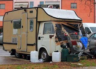 Fiat 238E camping car