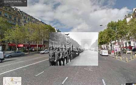Google Maps y la Segunda Guerra Mundial