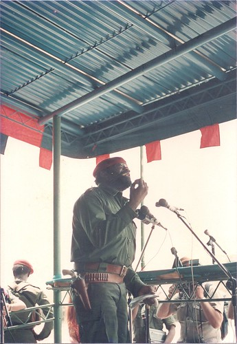 Jonas Savimbi gun address