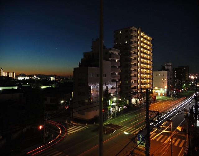 Evening in Shinkawa dori