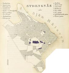 Image taken from page 178 of 'Försök till beskrifning öfver Sveriges städer i historiskt, topografiskt och statistiskt hänseende, efter de bästa tryckta källor samt med många tillägg'