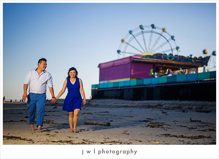 Santa Cruz Beach Wedding