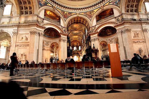 St Paul Cathedral: interni