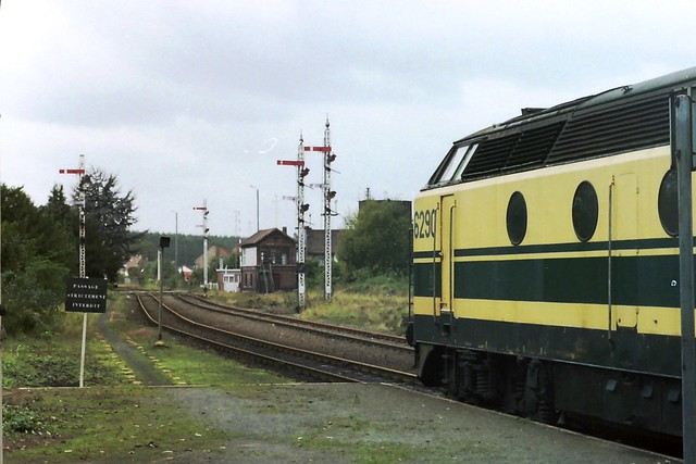 NMBS 6290 at Quievrain
