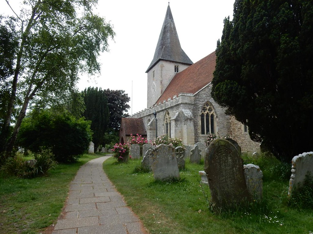 Bosham church Southbourne to Chichester