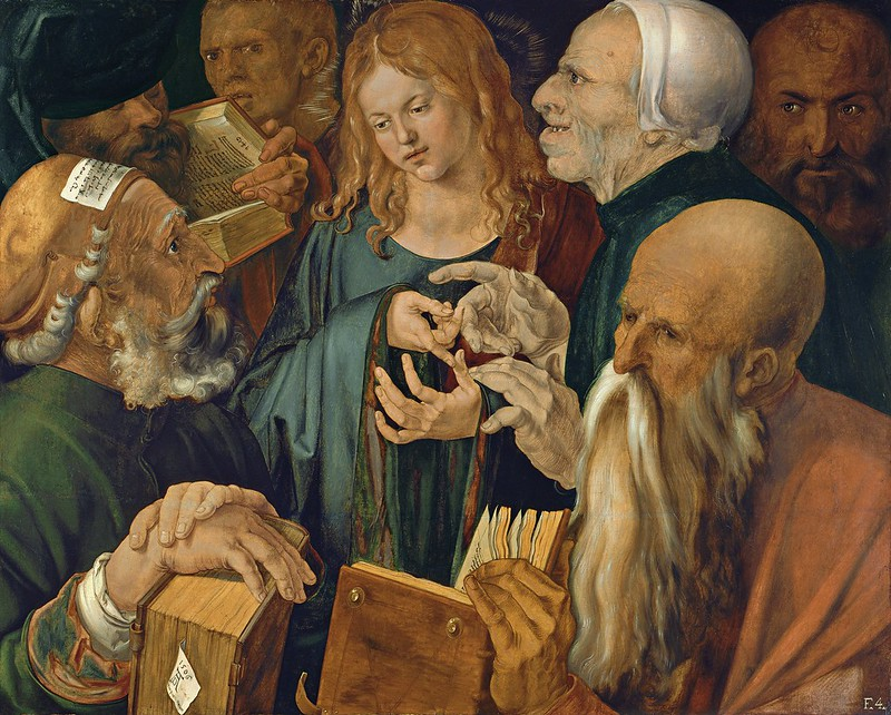 Albrecht Dürer - Jesus Among The Doctors (1506)