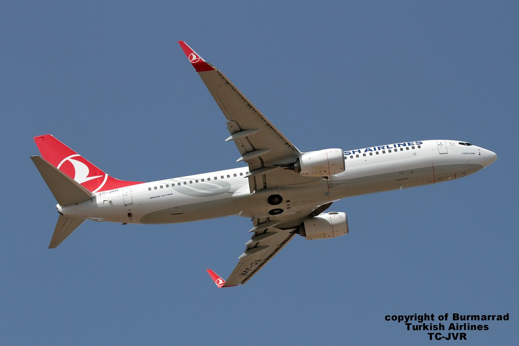 TC-JVR - B738 - Turkish Airlines