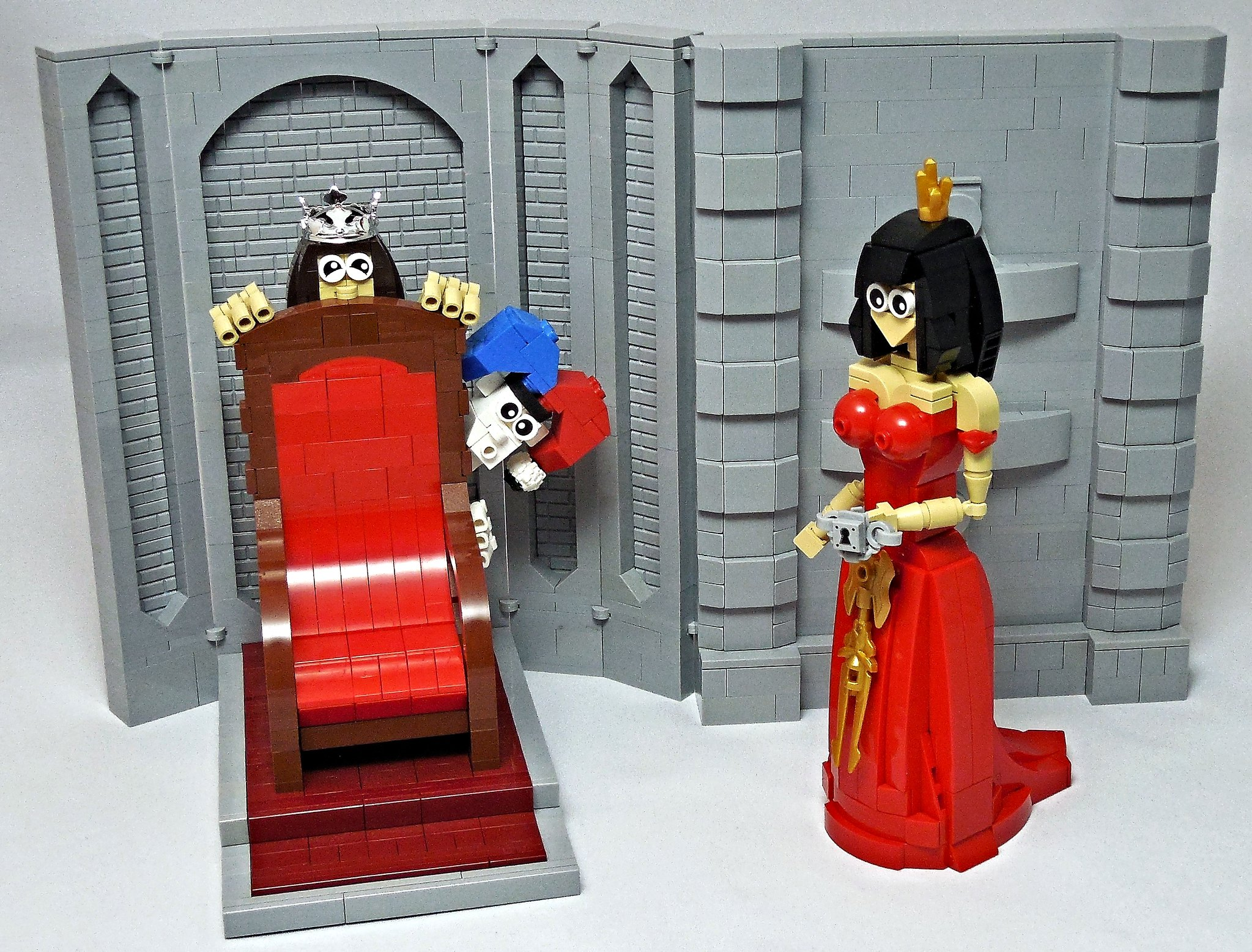 LEGO® MOC by Vitreolum: Queen Chastity