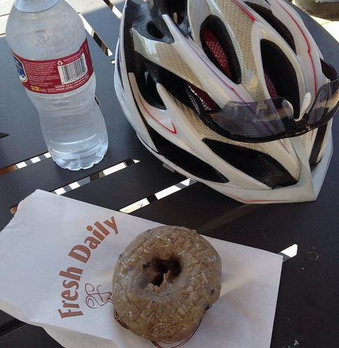 How do you end the weekend ride? #sandiego #summer @donuttouchbakerycafe #velonutz