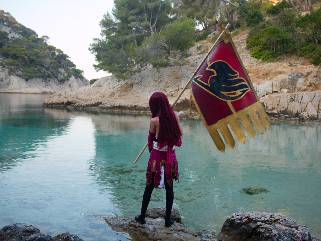 related image - Shooting Erza Scarlet - Fairy Tail - Port Pin -2016-07-02- P1430739