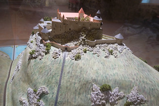 Diorama of Hohenwerfen Castle