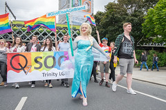 Dublin pride 2016 parade - Dublin, Ireland - Documentary photography