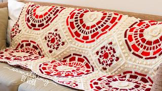 Summer Mosaic Afghan
