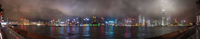 Hong Kong Skyline - Night