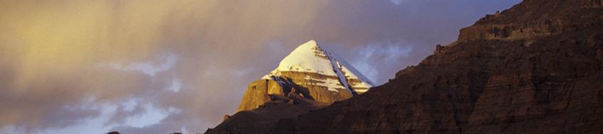 Tibet Kailash-Trekking. Der heilige Berg Kailash,6714 m. Foto: Bruno Baumann.