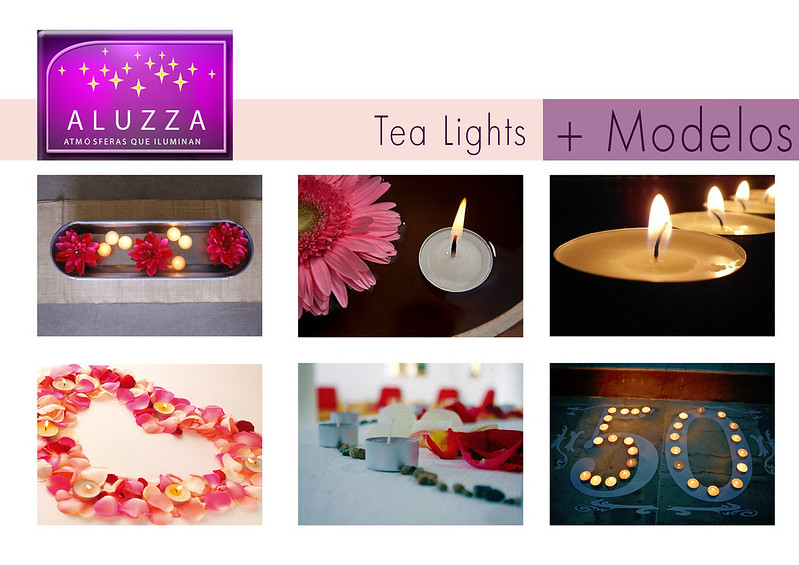 + modelos de tea lights