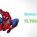 Progressiv jackpot på Spiderman-spilleautomaten