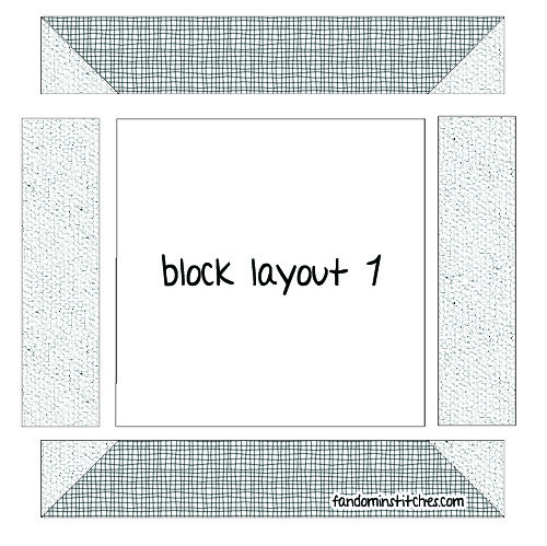 Block Layout 1 (odd number weeks)