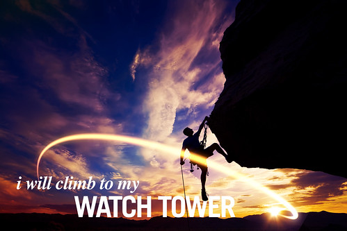 Climb by Faith (Meditation Art)