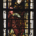 Lier, Vlaanderen, Sint-Gummaruskerk, stained glass window, south aisle, detail