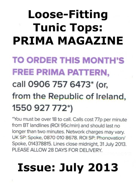 Prima Magazine - Pattern, July 2013 (05)