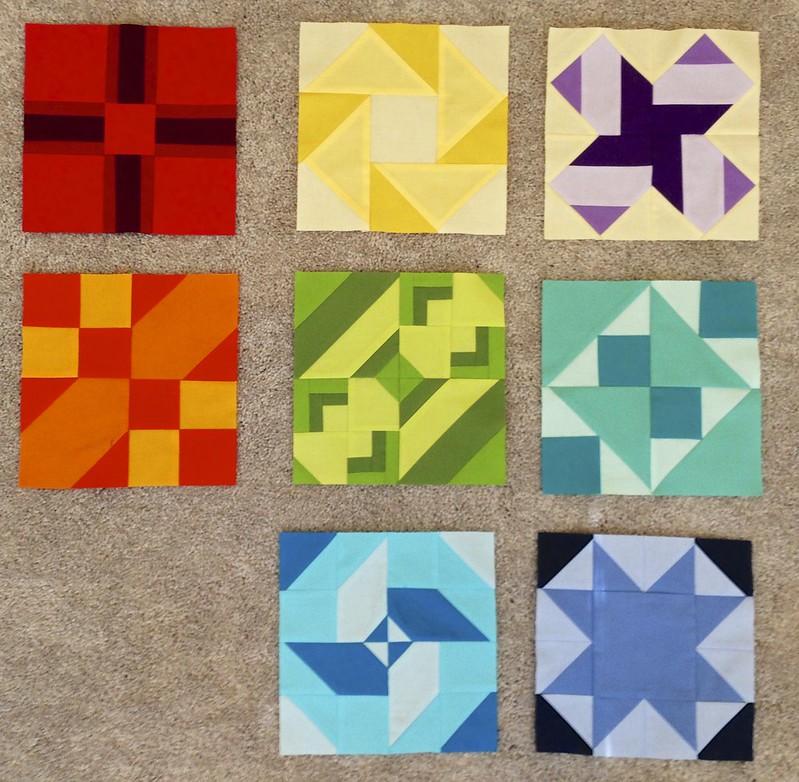 Block #'s 1-8