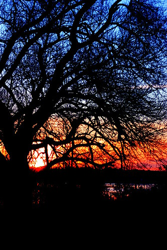 Sonnenuntergang in Rostock 08
