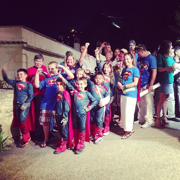 #superman #fan @lanciaauto #taormina #filmfest