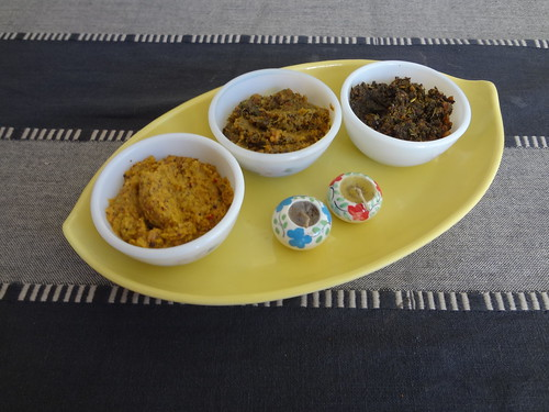Pachchadis Chutneys in Andhra meal