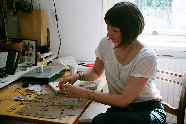 me making jewellery, believe