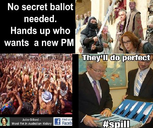 Kevin Rudd vs Julia Gillard