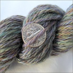 Monet handspun, close up