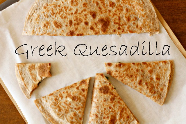 Greek Quesadilla