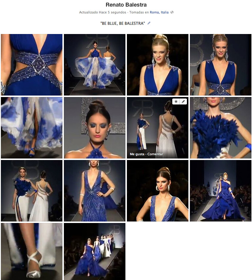 """BE BLUE, BE BALESTRA""AlwaysTrizia"
