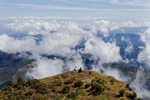 mountain clouds landscape climbing easttimor timorleste ramelau