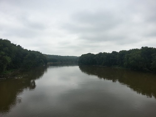Wabash River on a Cloudy Day
