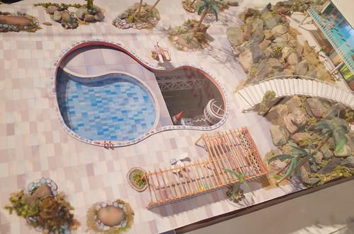 Tracy island base Thunderbird Expo 2013 Tokyo