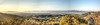 Mulholland Drive Panorama, Los Angeles - HDR