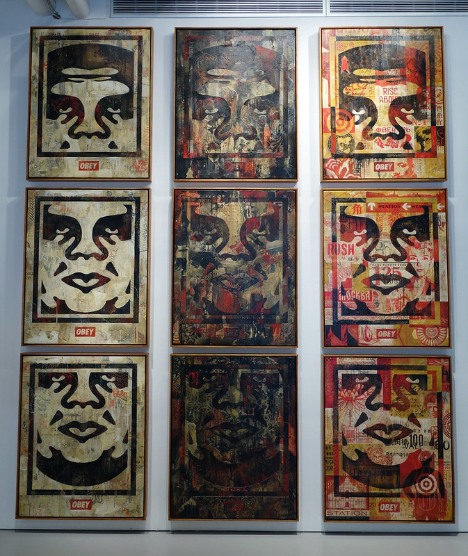 Shepard Fairey in 10 Years of Wooster Collective: 2003-2013
