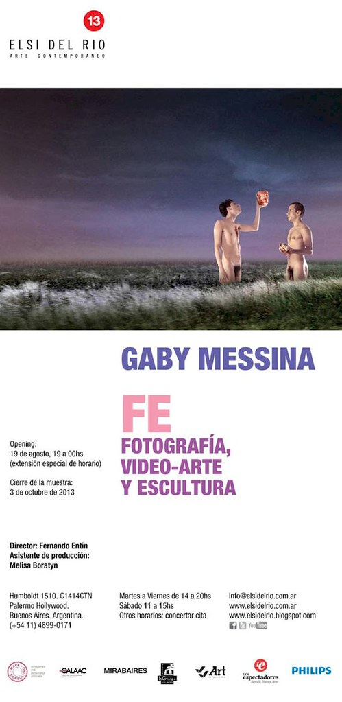 "Gaby Messina. ""Fé"" / Fotografía, video-arte y escultura"