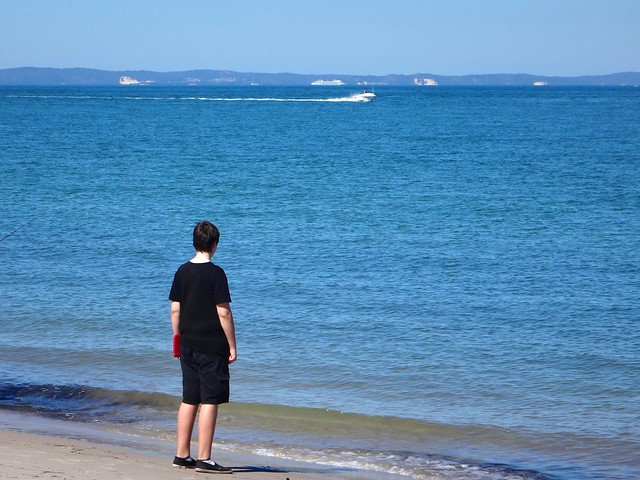 Looking at Moreton Island