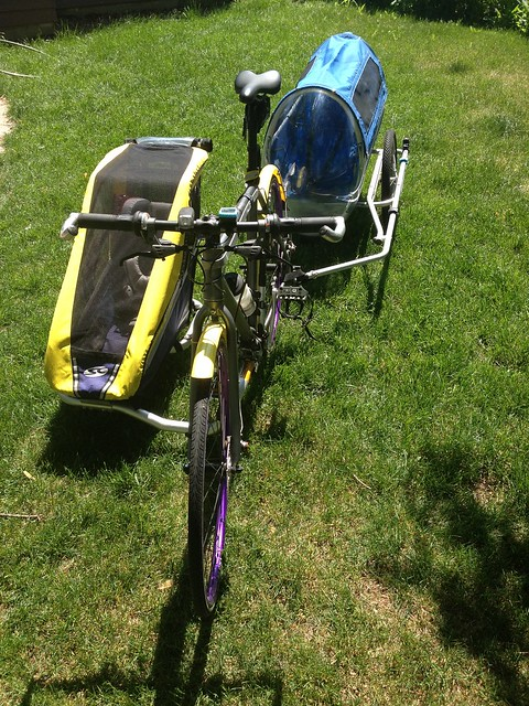 Anyone Have Feedback On Bike Trailer S For Little Ones Bike Forums