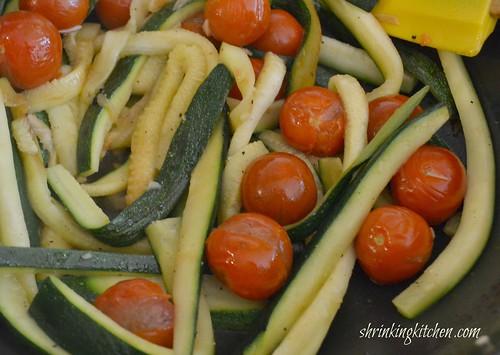 handcut zucchini 3