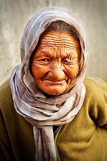 Old paesant