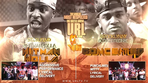 SMACK/ URL PRESENTS HITMAN HOLLA VS CONCEITED NOME 3 BATTLE